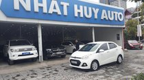 Bán ô tô Hyundai Grand i10 1.2 đời 2015, màu trắng, xe nhập, giá tốt