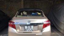Bán Toyota Vios 1.5E đời 2014, màu vàng chính chủ, giá chỉ 439 triệu