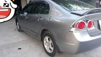Cần bán gấp Honda Civic sản xuất năm 2008, màu xám xe gia đình, giá tốt