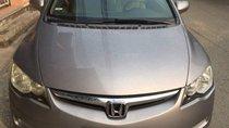 Cần bán lại xe Honda Civic năm sản xuất 2007, màu xám số sàn, giá 298tr