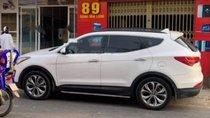 Bán xe Hyundai Santa Fe 2.4L 4WD sản xuất 2014, màu trắng xe gia đình
