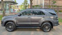 Bán Toyota Fortuner 2.7V đời 2015, màu xám số tự động