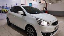 Bán xe Mitsubishi Mirage đời 2019, màu trắng, nhập khẩu, trả trước 100tr lấy xe ngay, Liên hệ 0911.821.457