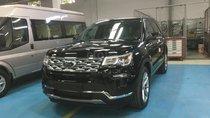 Bán ô tô Ford Explorer 2.3 Ecoboost năm sản xuất 2019, màu đen, nhập khẩu nguyên chiếc giá tốt. LH 0974286009