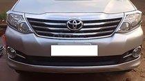 Cần bán lại xe Toyota Fortuner 2.5G 2015, màu bạc