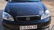 Cần bán lại xe cũ Toyota Corolla altis 1.8G MT 2002, màu đen