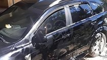 Bán Chevrolet Captiva LT 2.4 MT 2009, màu đen giá cạnh tranh