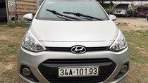 Bán xe Hyundai Grand i10 1.0 MT đời 2014, màu bạc, xe nhập