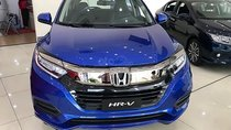 Bán Honda HR-V L năm sản xuất 2019, màu xanh lam, nhập khẩu Thái