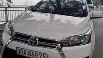Cần bán lại xe Toyota Yaris 1.3E năm 2015, màu trắng, nhập khẩu