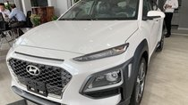 Bán xe Hyundai Kona 1.6 Turbo đời 2019, màu trắng, nhiều ưu đãi khuyến mãi tốt