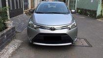 Bán Toyota Vios E sản xuất 2016, màu bạc chính chủ