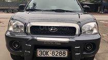 Cần bán gấp Hyundai Santa Fe đời 2003, màu đen, nhập khẩu