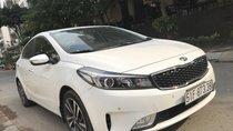 Bán xe Kia Cerato 1.6L Dulex full options năm sản xuất 2017, màu trắng liên hệ anh Dương SĐT 0938811266