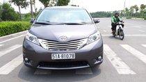 Toyota Sienna hàng Limited model 2014, màu xám, nhập khẩu, cực mới, 2tỷ 490tr