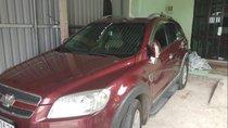 Cần bán gấp Chevrolet Captiva sản xuất năm 2008, màu đỏ, nhập khẩu