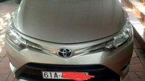 Bán Toyota Vios năm 2017, màu vàng, xe gia đình
