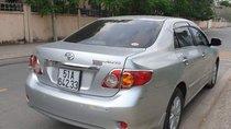 Bán ô tô Toyota Corolla altis MT năm 2009, màu bạc như mới