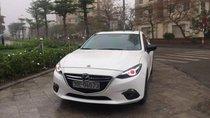 Cần bán lại xe Mazda 3 AT 2016, màu trắng, 600 triệu