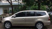 Cần bán lại xe Nissan Grand livina 2012, màu vàng, nhập khẩu