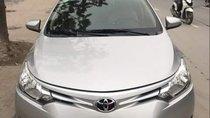 Bán Toyota Vios E đời 2017, màu bạc, chính chủ