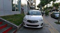 Bán xe Mitsubishi Attrage sản xuất 2019, màu trắng, xe nhập, giá tốt