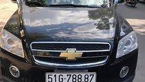 Cần bán xe Chevrolet Captiva đời 2007, màu đen, 295 triệu
