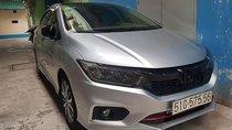 Cần bán gấp Honda City đời 2018, màu bạc, xe gia đình sử dụng, bao test tại hãng, không thủy kích