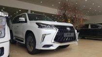 Bán Lexus LX570 Super Sport model 2019 màu trắng nội thất nâu đỏ, nhập khẩu mới 100%