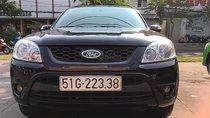 Bán xe Ford Escape đời 2010, màu đen, giá 515tr