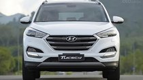 Bán xe Hyundai Tucson 2019, máy xăng, màu trắng, số tự động