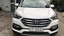 Cần bán gấp Hyundai Santa Fe 2.4L 4WD sản xuất 2016, màu trắng, xe gia đình đi kỹ