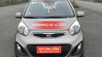 Cần bán xe Kia Morning 1.0AT 2011, màu xám (ghi), xe nhập