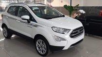 Bán xe Ford EcoSport Titanium 1.0 Ecoboost 2019, màu trắng, giá hấp dẫn, giao ngay
