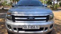 Bán Ford Ranger XLS 2015, màu bạc, nhập khẩu
