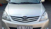 Cần bán xe Toyota Innova năm sản xuất 2009, màu bạc