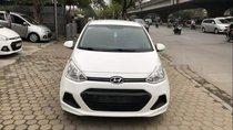 Bán ô tô Hyundai Grand i10 sản xuất 2016, màu trắng, nhập khẩu nguyên chiếc