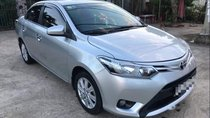 Cần bán lại xe Toyota Vios sản xuất 2014, màu bạc, nhập khẩu xe gia đình giá cạnh tranh