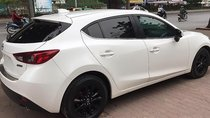 Bán Mazda 3 năm 2016, màu trắng, xe đẹp, máy móc nguyên zin êm ái