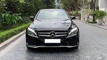 Mercedes Benz C300 AMG màu đen / đỏ, sản xuất 2018, biển Hà Nội