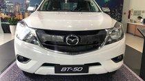Bán Mazda BT 50 2018, màu trắng, nhập khẩu