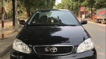Cần bán Toyota Corolla altis 1.8G đời 2003, màu đen, giá 230tr
