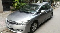 Bán ô tô Honda Civic AT đời 2009, màu bạc chính chủ, 398 triệu