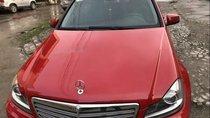 Bán Mercedes C250 năm 2011, màu đỏ, 670tr