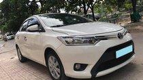 Cần bán xe Toyota Vios E 2017 số tự động, màu trắng