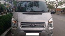 Bán Ford Transit DCar President VIP 10 chỗ màu bạc sản xuất 2015, biển Hà Nội