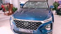 Bán xe Hyundai Santa Fe 2.4L đời 2019, màu xanh lam