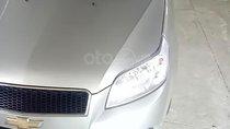 Cần bán gấp Chevrolet Aveo LT 1.5 MT đời 2016, màu bạc giá cạnh tranh