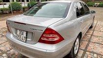 Bán Mercedes C200 Kompressor năm sản xuất 2003, màu bạc như mới, giá tốt