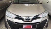 Bán xe Vios E 2019, nâu vàng, chạy 153 km, như mới, LH Hiền Toyota giá tốt